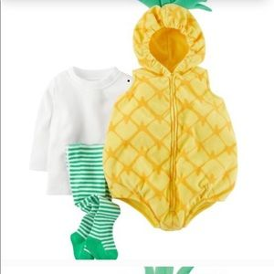 Carter's little pineapple Halloween costume